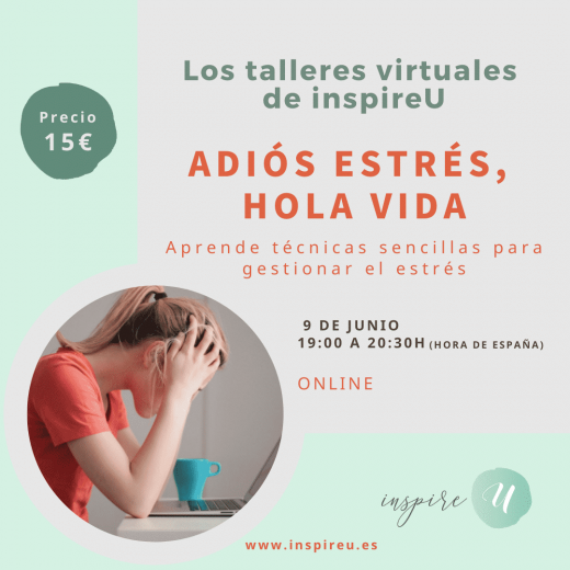 taller virtual inspireU estres